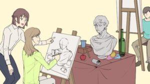 絵を習うイメージ