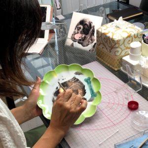 なが田カガリペット肖像画