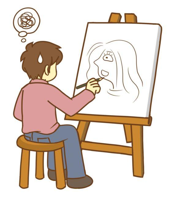 絵が上手い人と下手な人の違いは?特徴10選